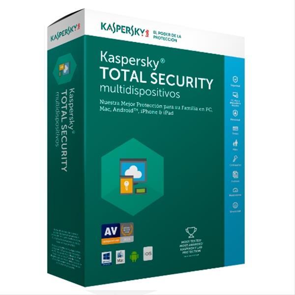 licencia kaspersky total security 2017
