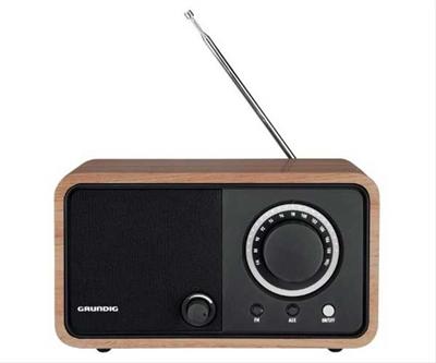 GRUNDIG TR 1200 RADIO CLÁSICA MARRON·
