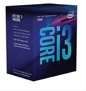 INTEL CORE I3-8100 3.6GHZ 6MB SOCKET 1151 14NM Gen8