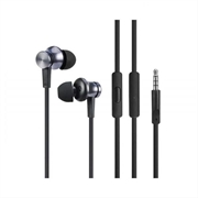 XIAOMI MI IN-EAR AURICULARES BASICOS CABLE 1,25M NEGROS