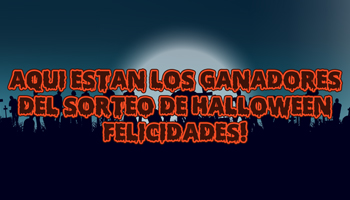 Ganadores del sorteo de Halloween de Supercomp Digital